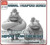 [ZLPLA][AT-004]1/35 WWII German Hippo Tank Crew Set B ( 2 figures)