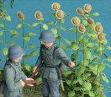 [Kamizukuri] [A-1-35] Sunflower (1/35 scale)