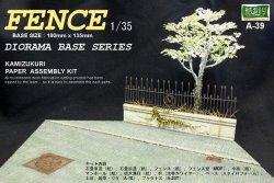 Photo1: [Kamizukuri] [ A-39] Diorama Base Series  FENCE