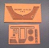 [Kamizukuri] [FP-6] Honeycomb Engine Grill for sd.kfz.223(Tamiya)