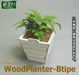 [Kamizukuri] [G-39] Wood Planter B type