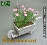 [Kamizukuri] [G-40] Wood handcart