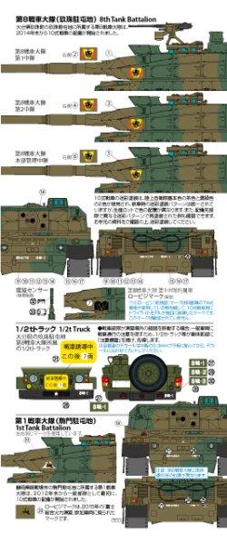 Photo2: twilight model[TM-01]1/35  JGSDF TYPE10 TANK DECAL SET A